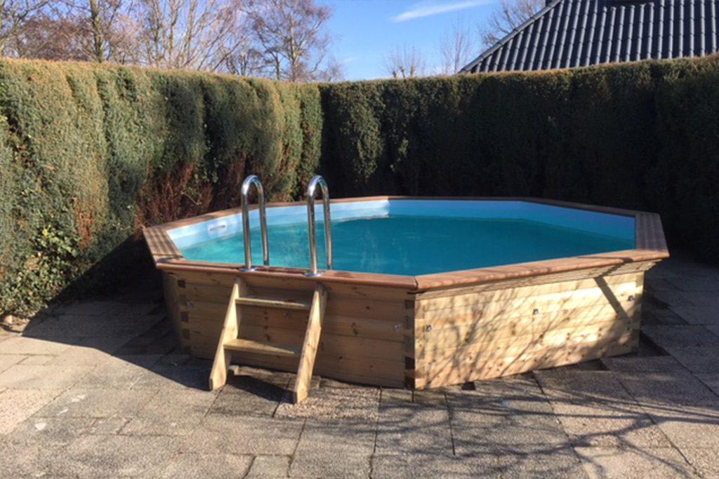 Zwembad vakantiehuis met sauna